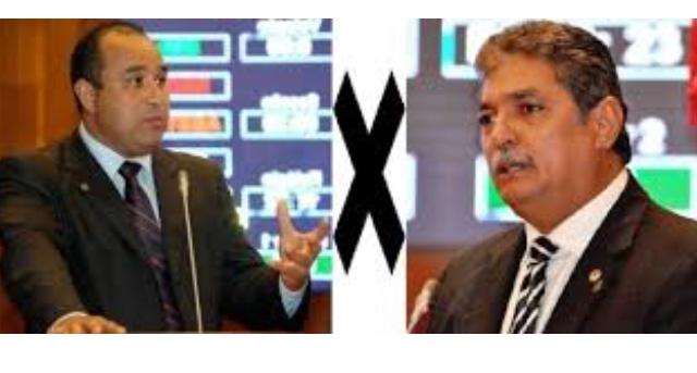Deputados Carlinhos Florêncio e Roberto Costa quase vão aos tapas hoje na Assembleia