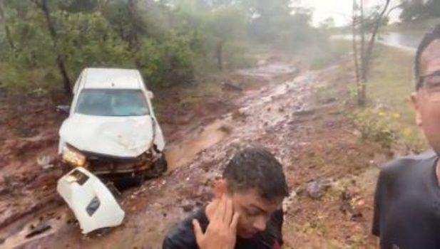 Prefeito candidato a governador do Maranhão sofre grave acidente