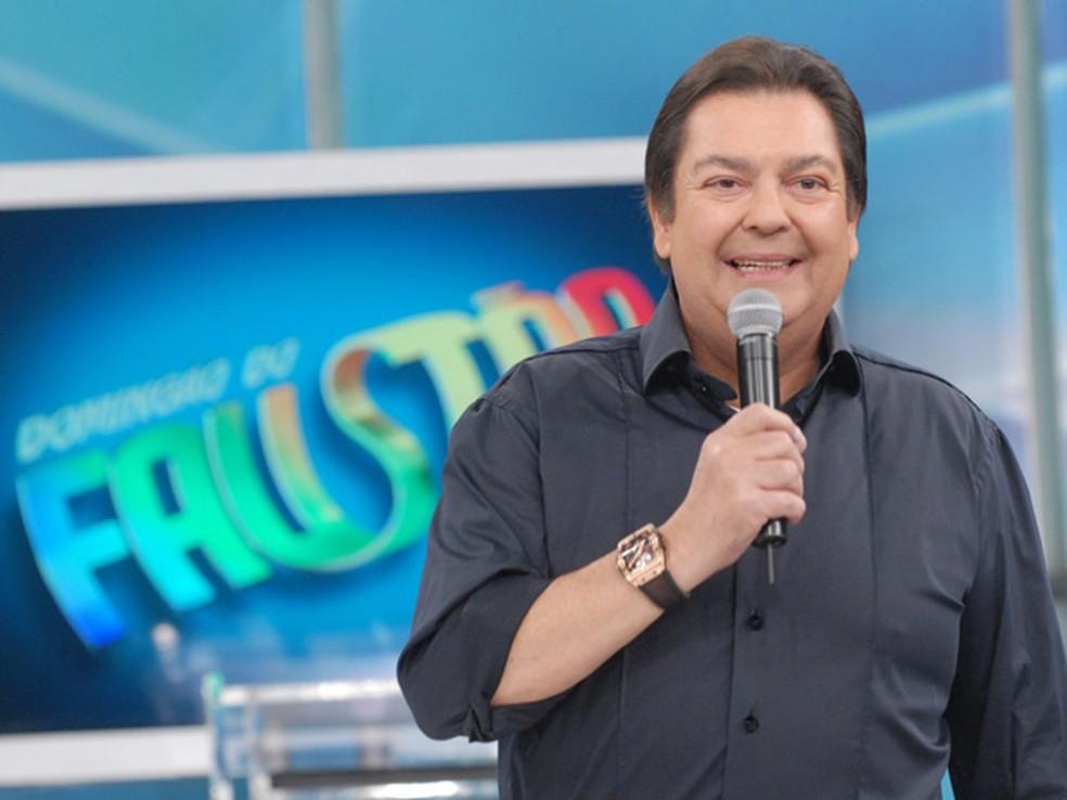 Fausto Silva — Foto: Divulgação/TV Globo