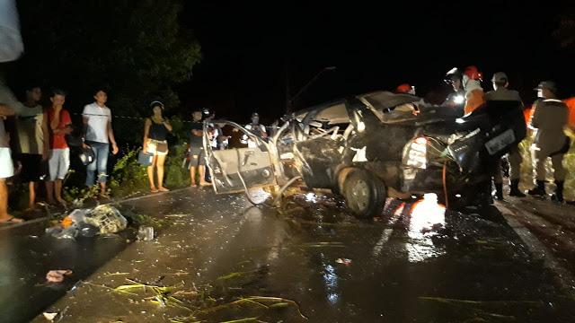 Duas crianças morrem em acidente causado por motorista embriagado no MA