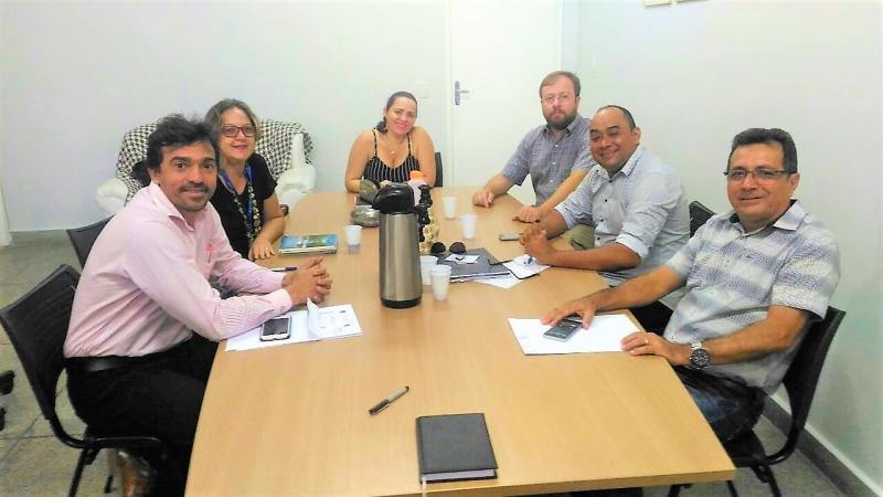 Prefeito de Joaquim Pires, Genival Bezerra (PT), Teve Audiência com Diretor e Professores da UFPI