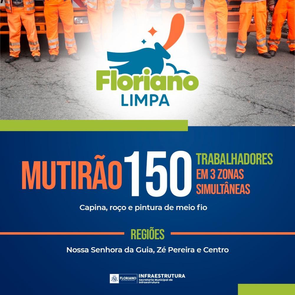 Mutirão Floriano Limpa