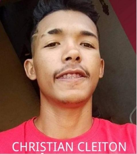 CRISTIAN CLEITON DOS SANTOS COSTA, vulgo ÍNDIO, é procurado pela Polícia Civil do Maranhão, acusado de homicídio.