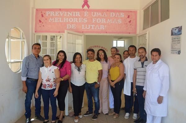 Colônia do Gurguéia-PI na campanha outubro rosa
