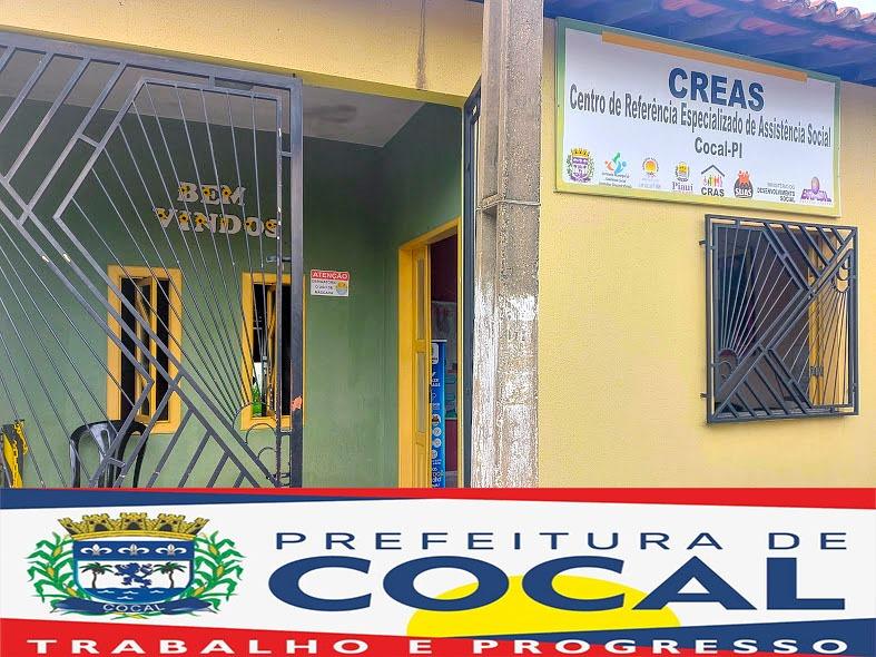CREAS de Cocal oferta serviços de atendimento à população