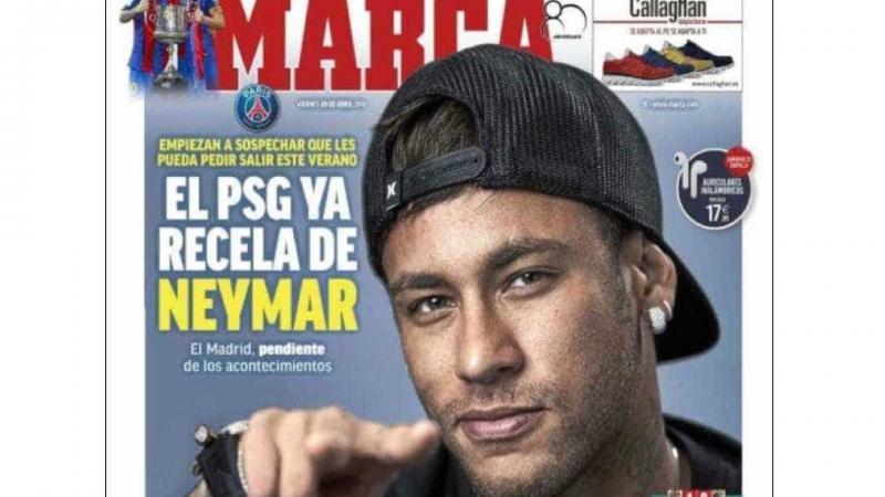 PSG já suspeita de Neymar', diz jornal espanhol