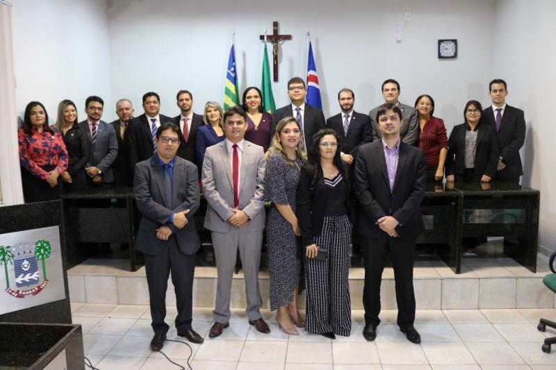 Posse da primeira diretoria da Subseção da OAB-PI em Barras