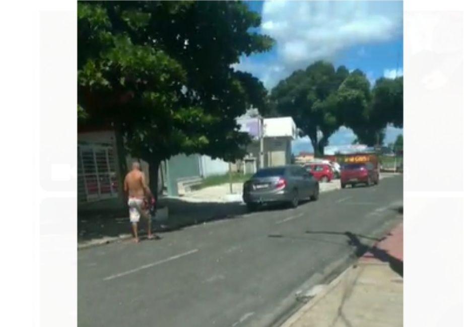 Sargento é baleado após reagir a assalto no bairro Dirceu