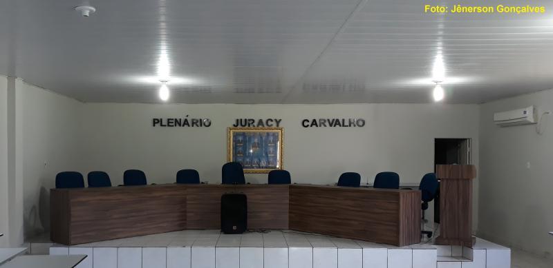 Plenário da Câmara Municipal de Gilbués ganha novo 'layout'