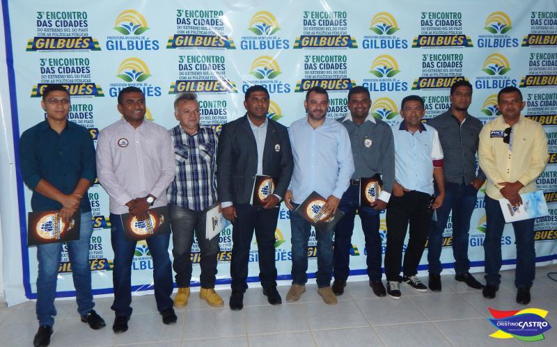 Prefeito Dr. Manoel Júnior e sua comitiva participam do 3º Encontro das Cidades em Gilbués