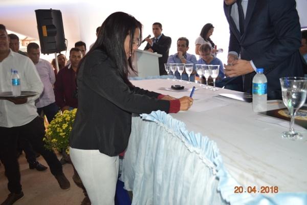 Prefeita Doquinha assina protocolo de intenção de criação do consórcio da saúde do extremo sul