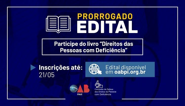 OAB: Edital para a submissão de artigos científicos segue aberto até 21/05
