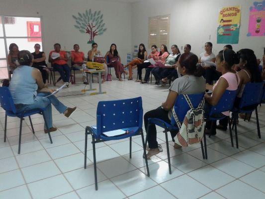 Educação de Colônia do Gurguéia sempre qualificando os professores da educação infantil