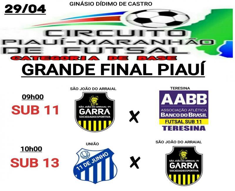 Garra SJA conquista o regional do circuito Piauí-Maranhão e vai disputar a final a nível Estadual