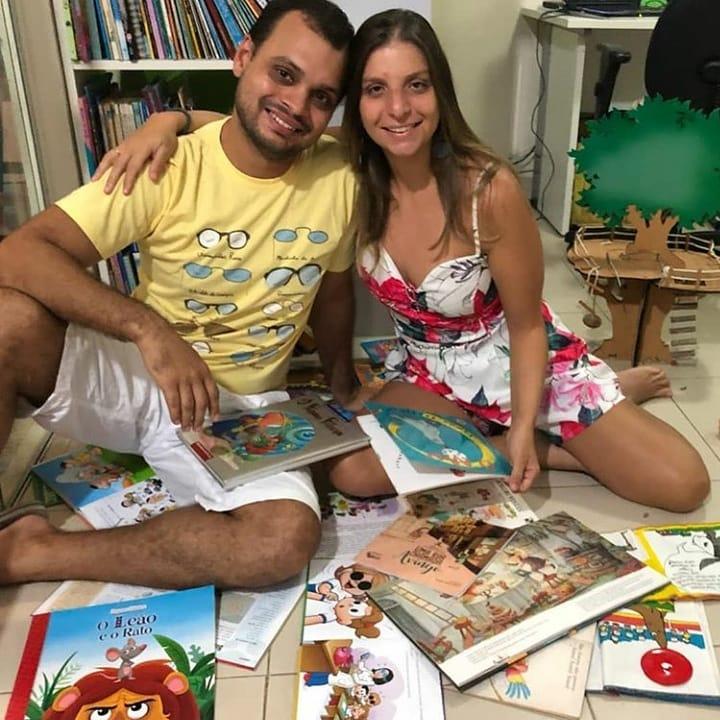 Vivian e Rodrigo - Divulgação