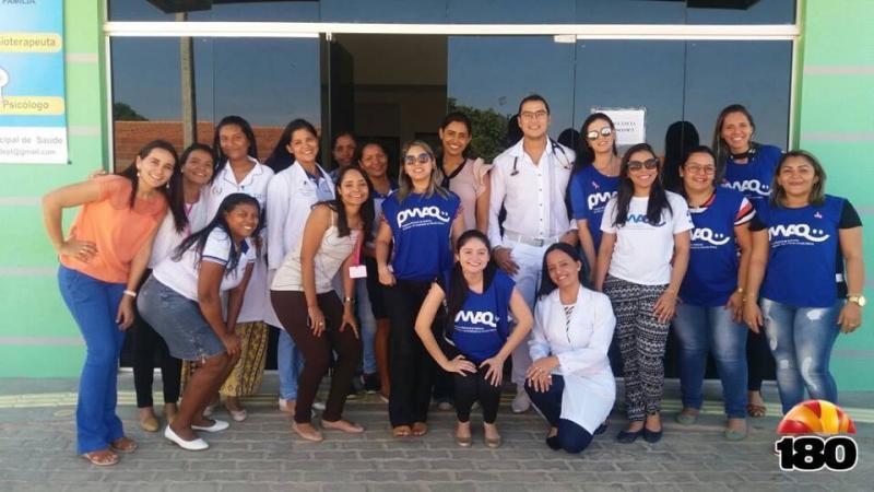 Secretaria municipal de saúde de Pedro Laurentino agradece a visita da equipe do PMAQ