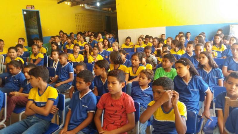 Escolas municipais desenvolvem projeto 'Olho D'água: sua história, nossa gente'