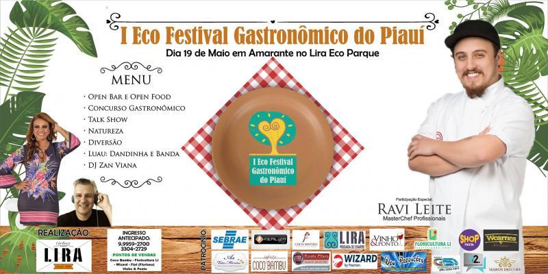Eco Festival Gastronômico do Piauí no Lira Eco Park
