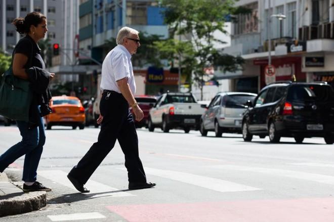 Pedestres idosos são maiores vítimas de acidentes graves