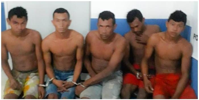 PM-MA prende os 05 assassinos de 'Zé Viola' e sua companheira