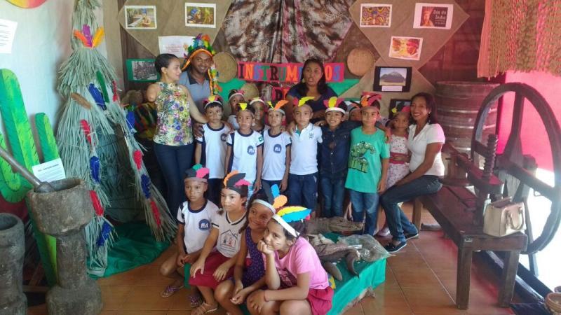 Exposição Realizada pela Secretaria de Cultura e Turismo de Valença do Piauí foi um Sucesso.