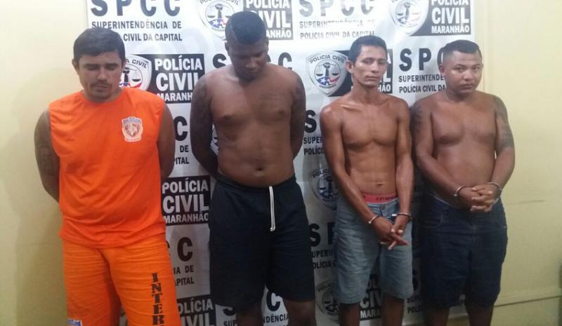 Trio é preso suspeito de participar de assassinato bárbaro no Maranhão
