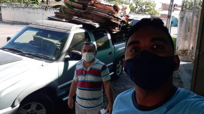 Timonense entrega mais de 500 quilos de recicláveis e ganha desconto