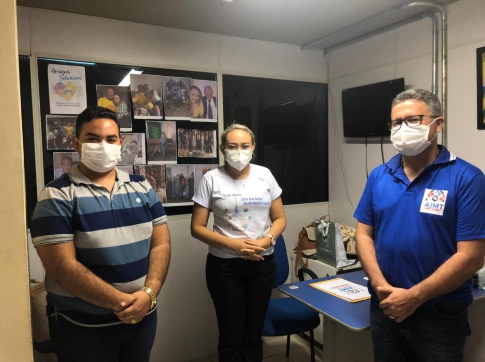 AJMT EM VISITA A PRIMEIRA-DAMA DO MUNICÍPIO DE TERESINA.