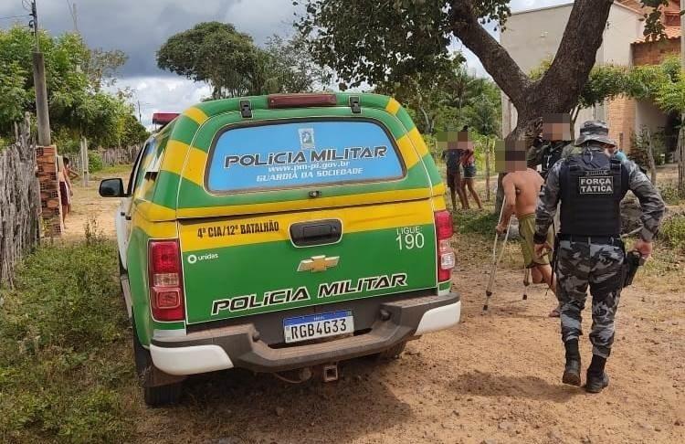 Suspeito de matar homem com golpe de machado é preso em São João do Arraial