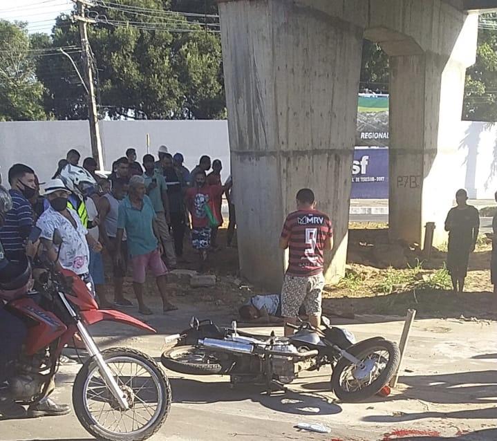 Homem é assassinado a tiros embaixo de viaduto na zona sul de Teresina