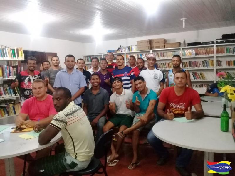 Seleção de Cristino Castro participará da I Copa Regional de Futebol do Gurguéia