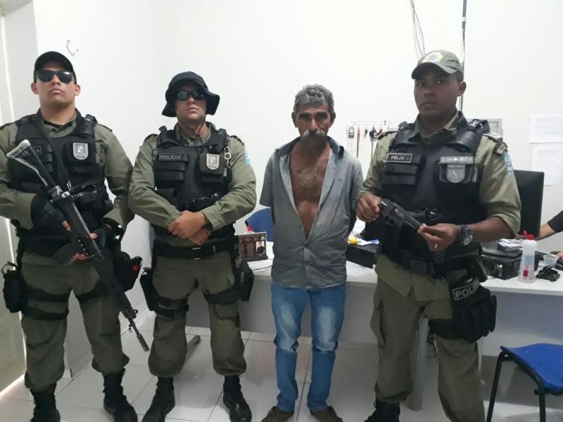 Acusado de executar homem a tiros no interior do Piauí é preso