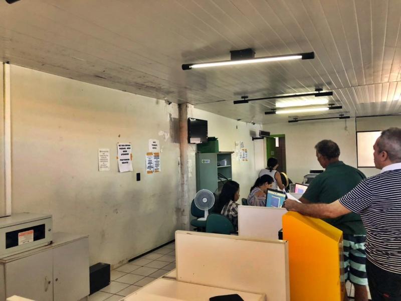 Usuário denuncia condições precárias de posto do Detran