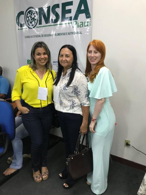 Técnicas da Assistência Social de Olho D'água participam da elaboração do plano alimentar