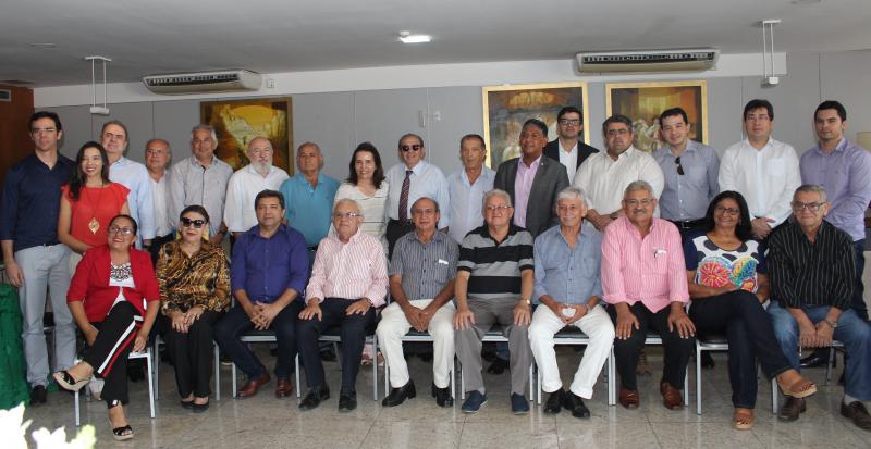 Valdeci Cavalcante é reeleito, por unanimidade, na Fecomércio Piauí