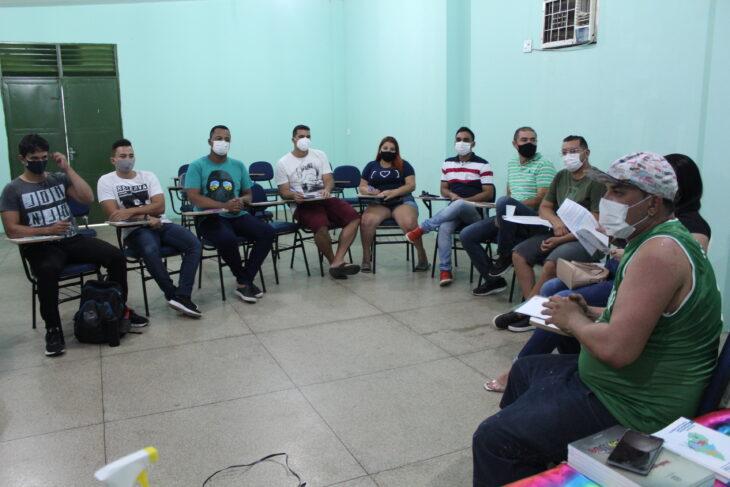 Cojuv realiza esse tipo de capacitação em vários municípios que tenham interesse em ter o seu próprio conselho. Foto: Ascom Cojuv