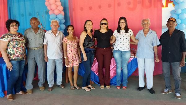 CRAS de Agricolândia promove encontro para o grupo de idosos