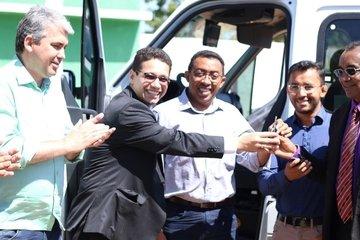 Agentes penitenciários de Floriano recebem viatura e equipamentos de segurança