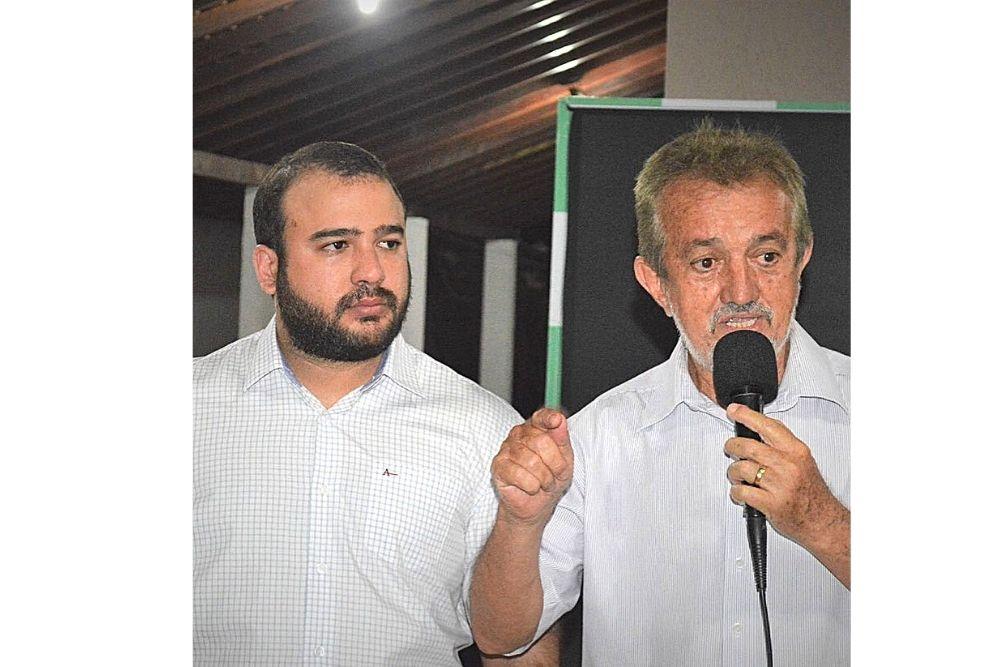 Joãozinho Félix - Jordelio / Prefeito e vice-prefeito de Campo Maior - Reprodução