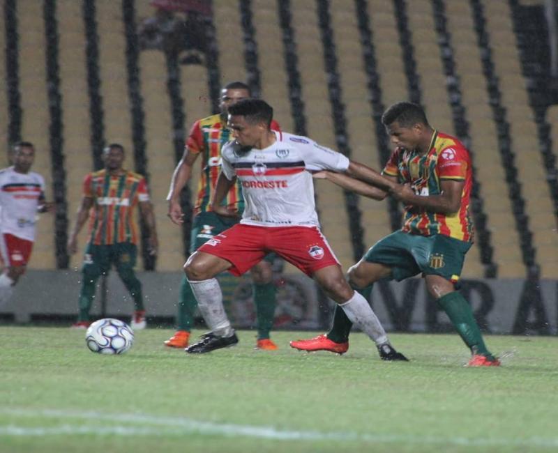 River perde para o Sampaio e está fora da Copa do NE 2019