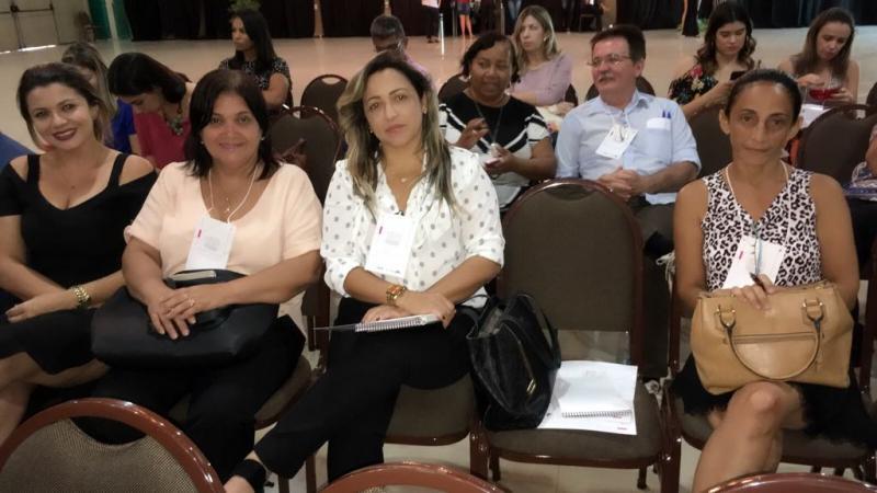 Primeira Dama Dira Santos participa do Encontro Estadual de Fortalecimento da Atenção Básica