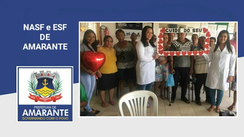 NASF/ESF: Dia Nacional de Combate a Hipertensão Arterial em Amarante