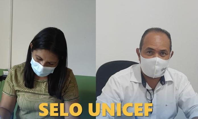Prefeito de Pau D'arco do PI assina Termo de adesão ao Selo UNICEF 2021