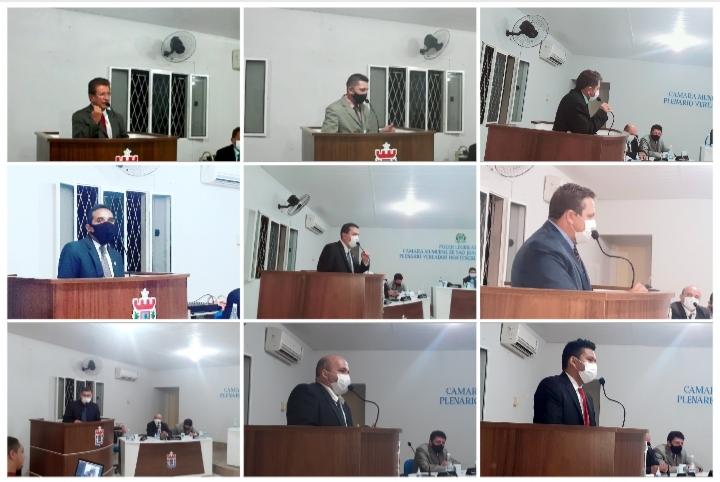 Câmara municipal de São J do Arraial realizou última sessão do 1° semestre