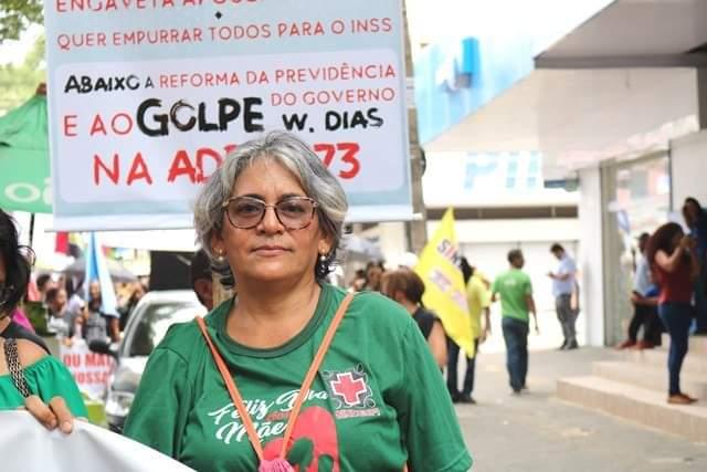 Geane Sousa, presidente da SINDESPI - Foto: Ascom SINDESPI