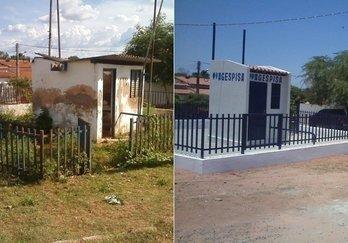 Agespisa reforma casa de bomba em Gilbués