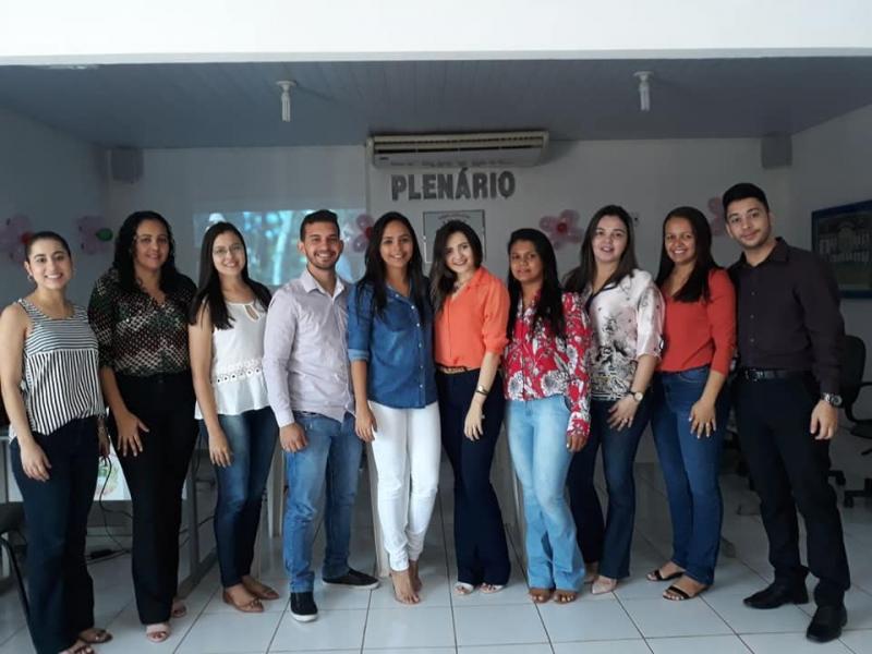 Secretarias realizam atividades para grupo de gestantes em Nazária