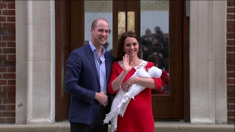 Príncipe William e Kate Middleton revelam nome do 3º filho