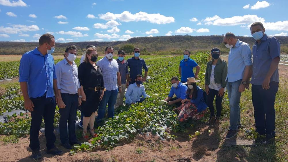 Deputado e representantes do agronegócio do Piauí visitam Simplício Mendes