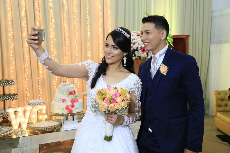 Veja os registros do casamento de Gabrielle Araújo e Wallesson Rocha